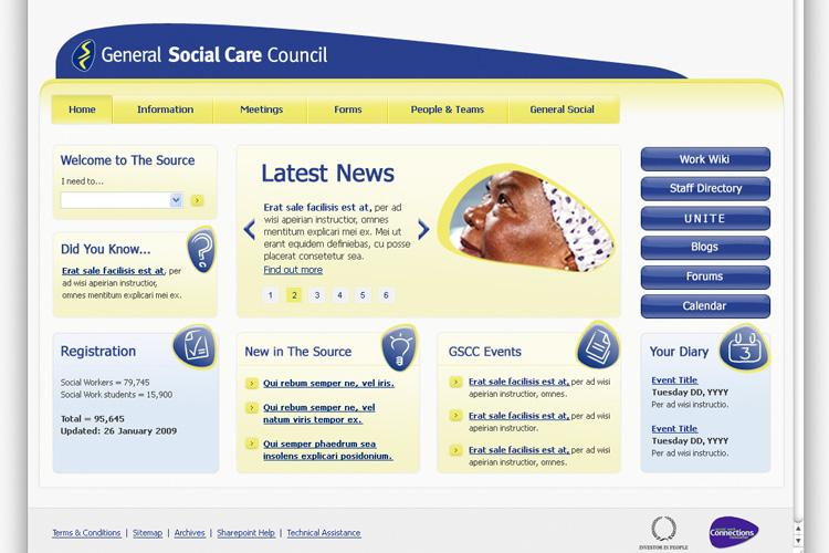 general social care What is the gscc the general social care council (gscc) is the independent  regulatory body responsible for overseeing social care training.